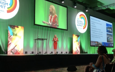 Shannon Mckee Speaks at Global Tourism Summit
