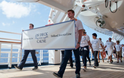 The Cruise Industry Gives Back
