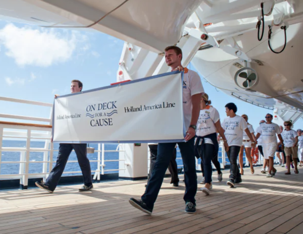 The Cruise Industry Continues to Give Back