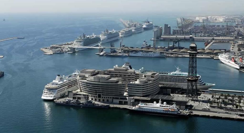 Barcelona's Bustling Port - Major Cruise Hubs in Europe