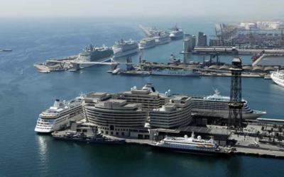 Barcelona's Bustling Port – Major Cruise Hubs in Europe