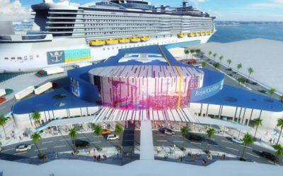 New Royal Caribbean $100m Terminal at the Port of Galveston